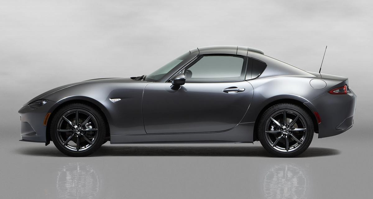 Mazda MX-5 RF : quand la Miata se fait Targa