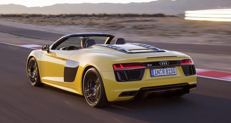Audi R8 Spyder : le roi de New York