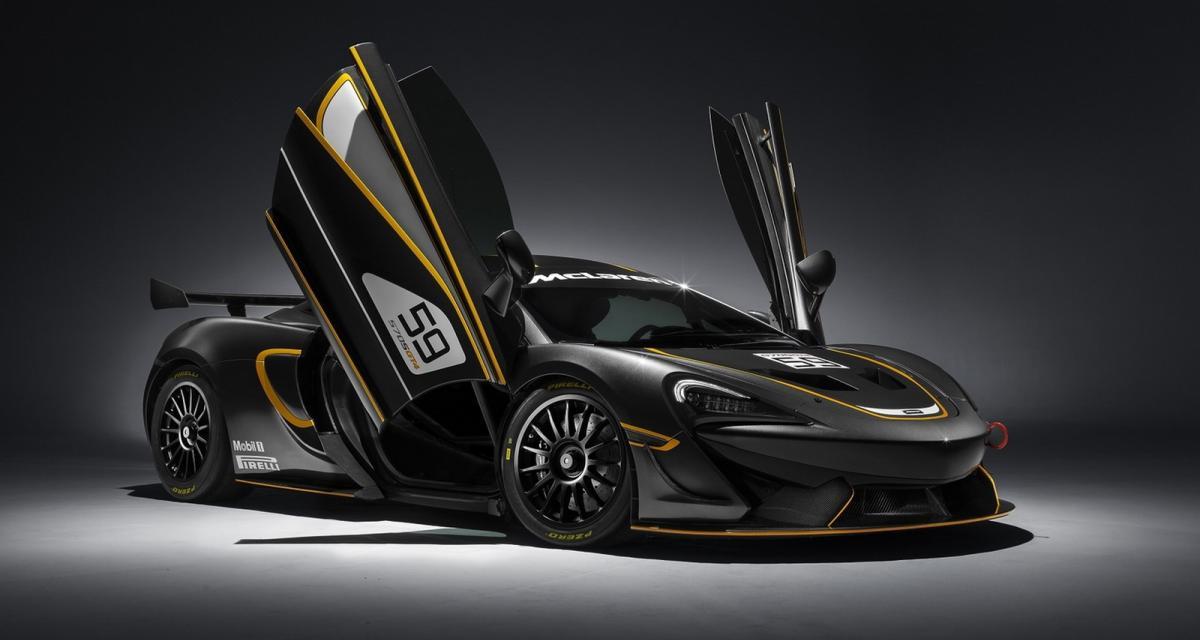 McLaren 570S GT4 : chassez le naturel