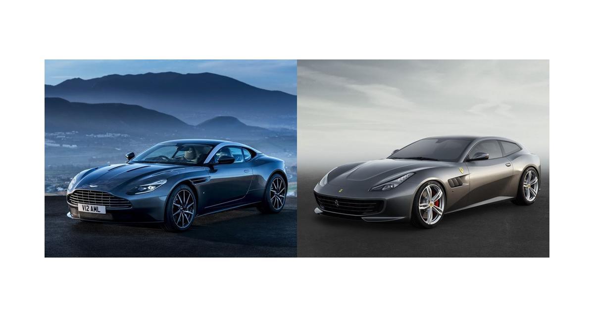 Aston Martin DB11 contre Ferrari GTC4Lusso