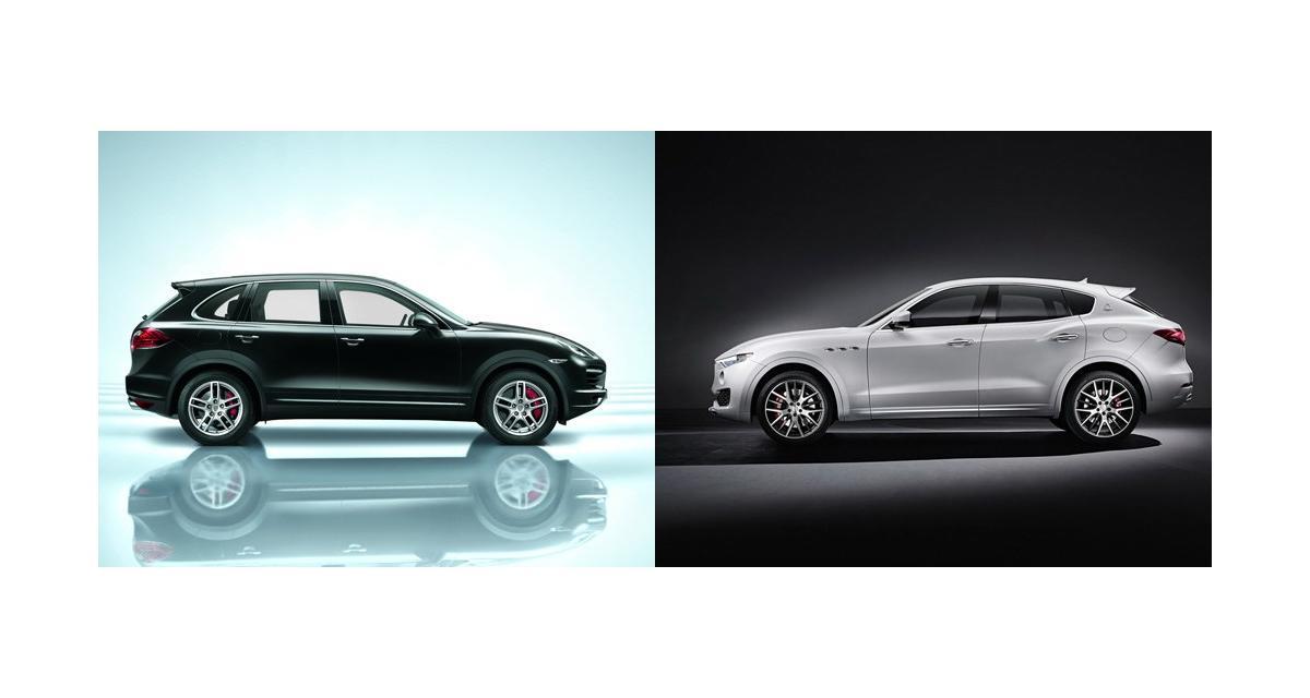 Maserati Levante contre Porsche Cayenne : le choc des titans