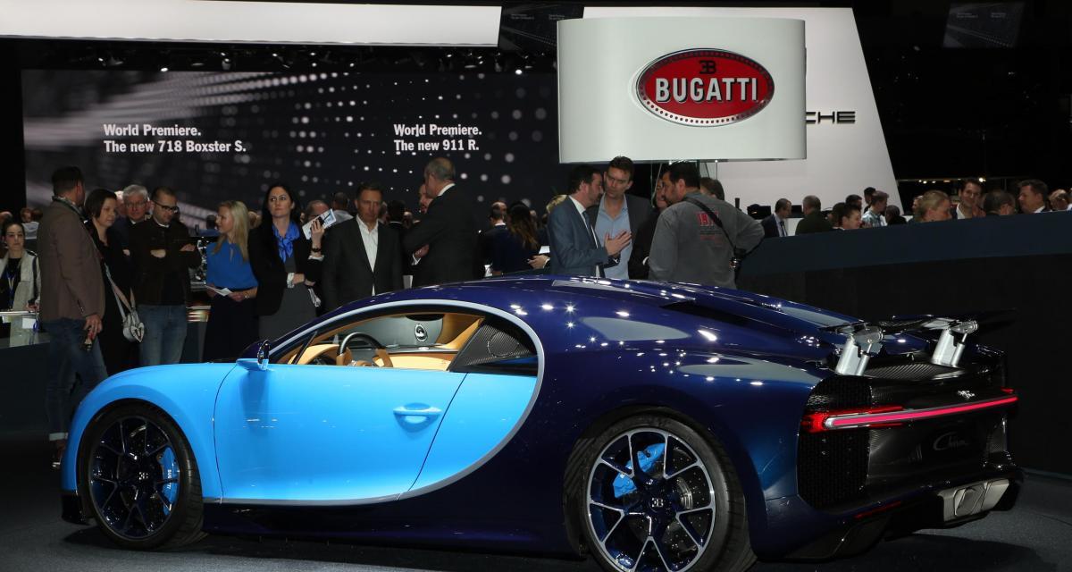 Genève 2016 : Bugatti Chiron, Lamborghini Centenario, Aston Martin DB11, les supercars en vidéo