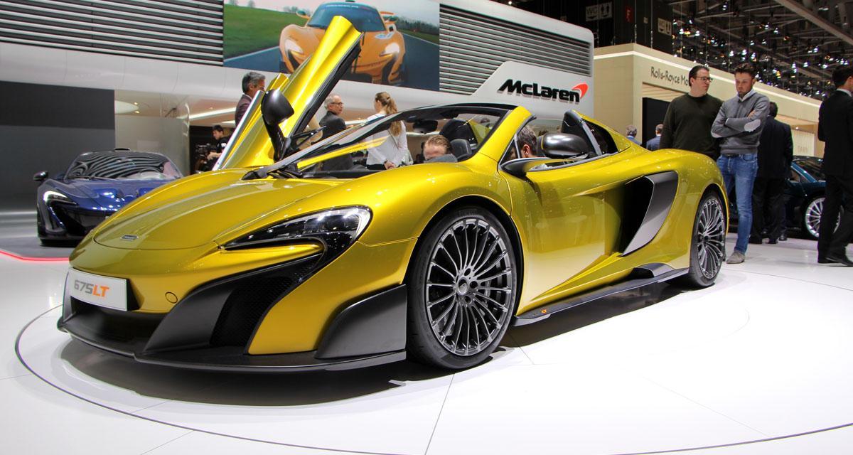 Genève 2016 : McLaren 675LT Spider