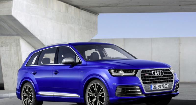 Genève 2016 : Audi SQ7 TDI
