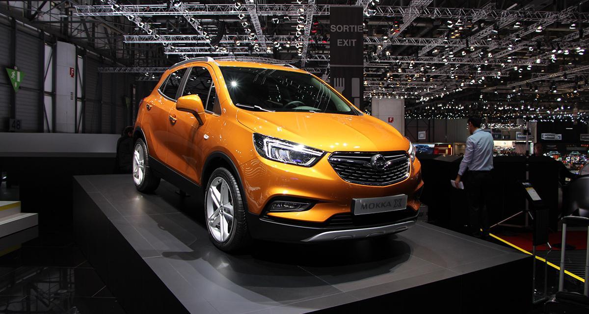 Genève 2016 : Opel Mokka X