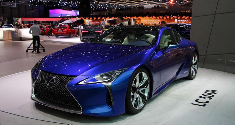 Salon de Genève en direct : Lexus LC 500h