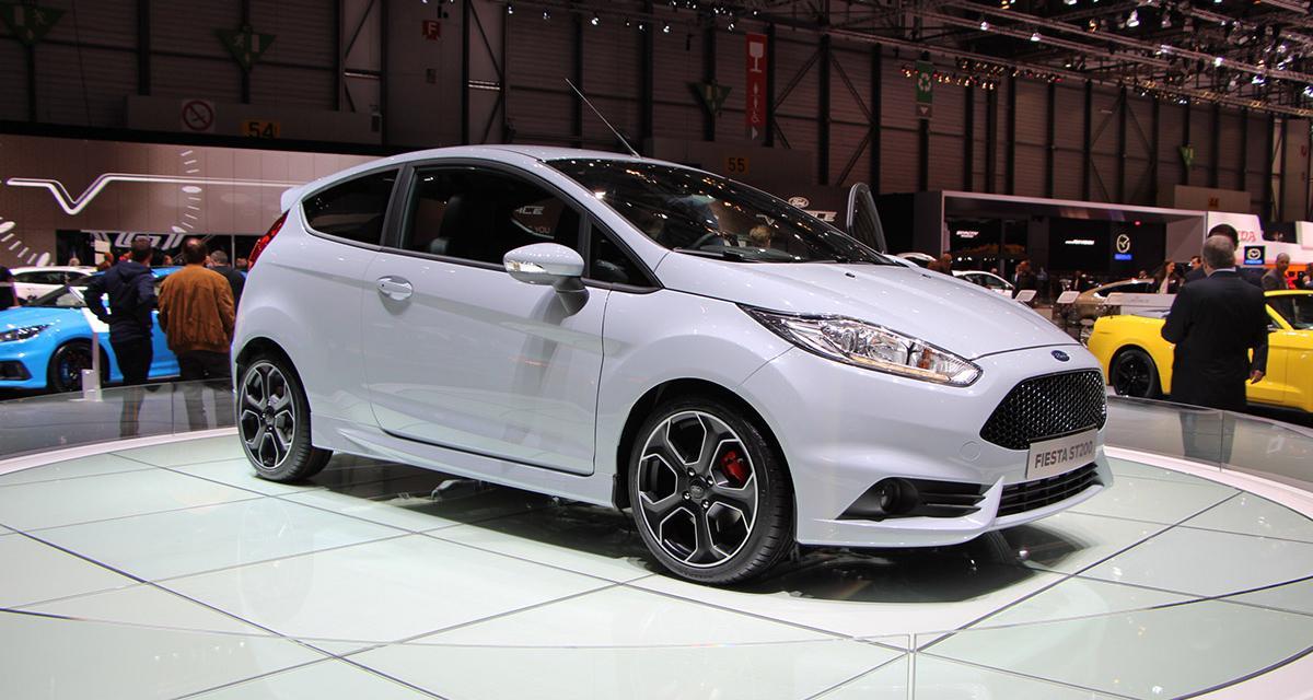 Genève 2016 en direct : Ford Fiesta ST200