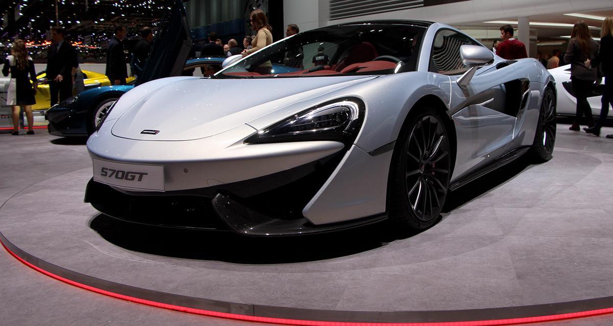En direct de Genève : McLaren 570GT