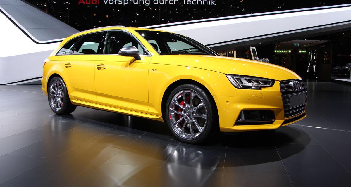 En direct de Genève : Audi S4 Avant