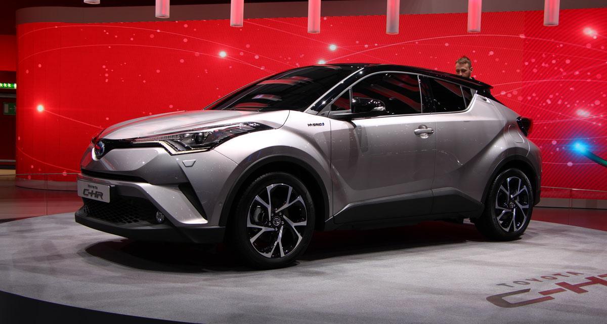 En direct de Genève : Toyota C-HR