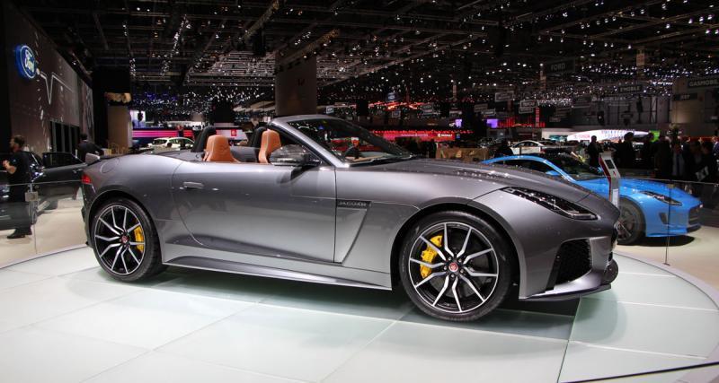 Salon de Genève en direct : Jaguar F-Type SVR