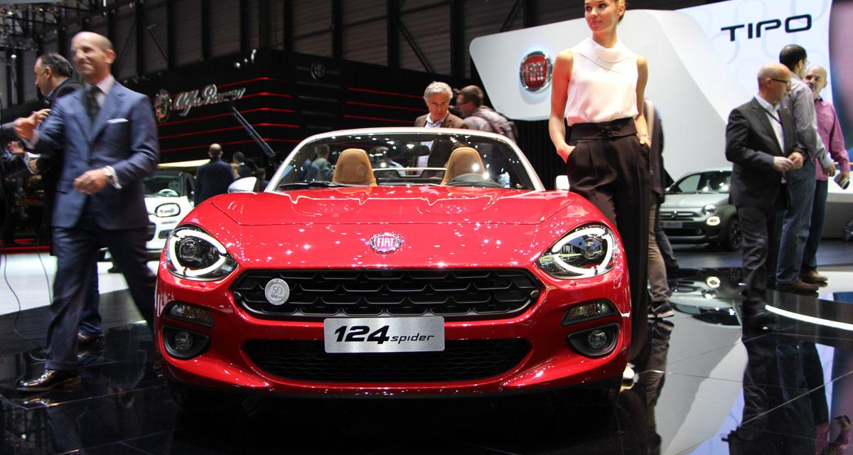 Salon de Genève en direct : Fiat 124 Spider