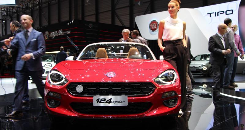 Salon de Genève en direct : Fiat 124 Spider