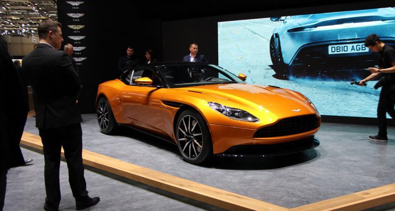 Salon de Genève en direct : toutes les photos de l'Aston Martin DB11