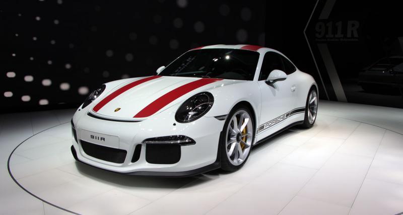 Salon de Genève en direct : toutes les photos de la Porsche 911 R