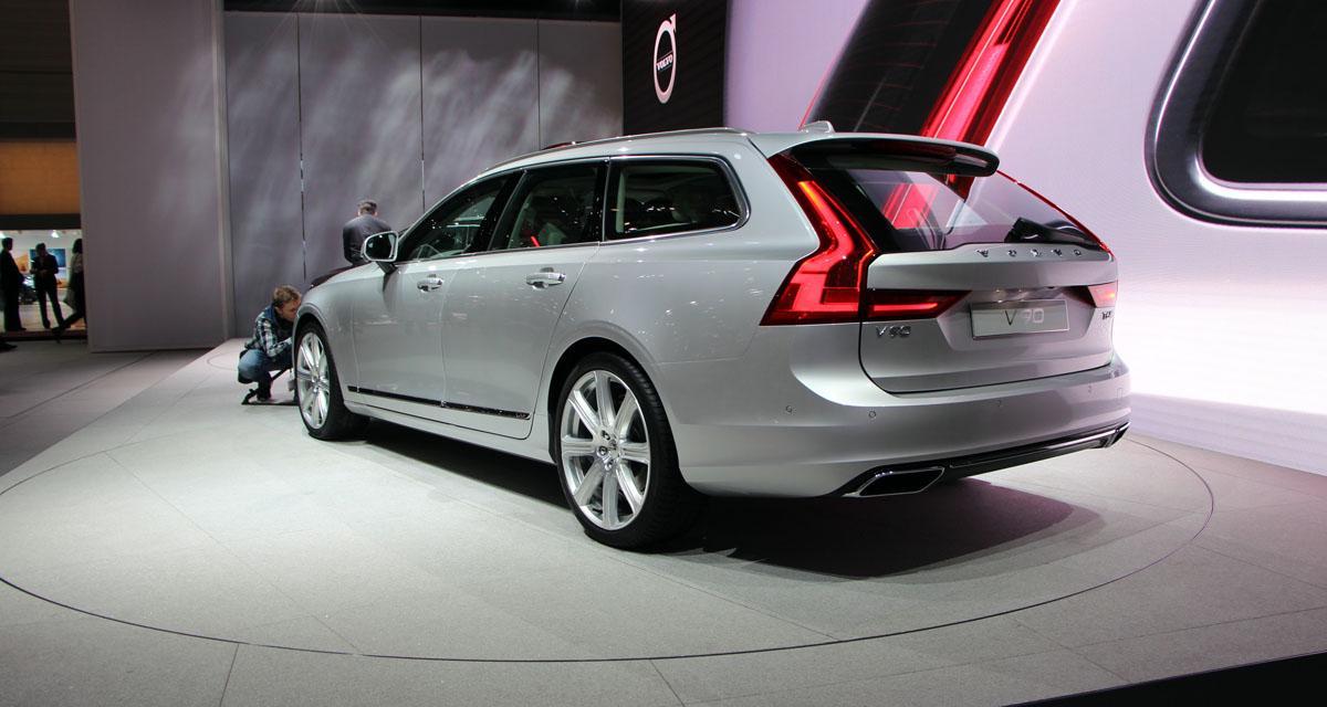 Salon de Genève en direct : Volvo V90, toutes les photos