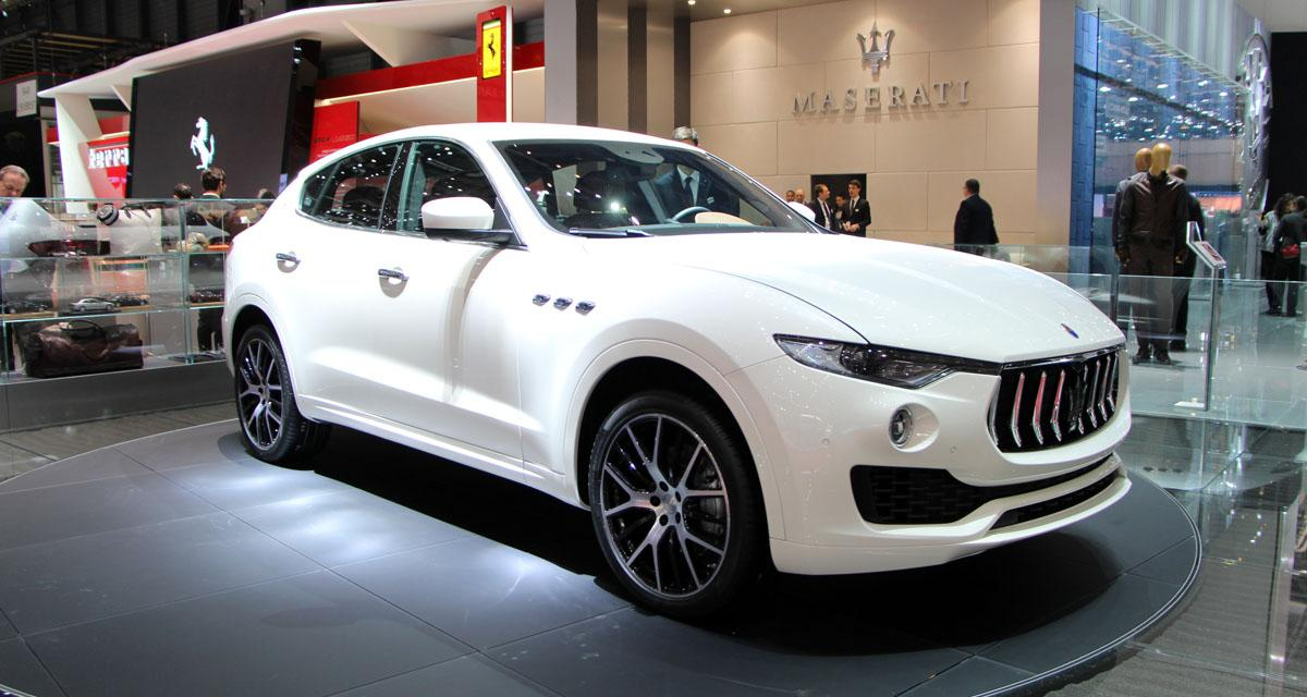 Salon de Genève en direct : Maserati Levante