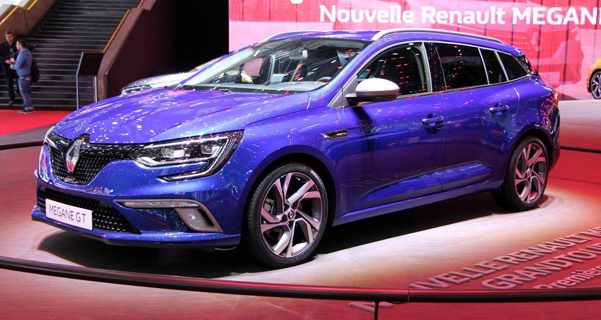 Salon de Genève en direct : nouvelle Renault Mégane Estate