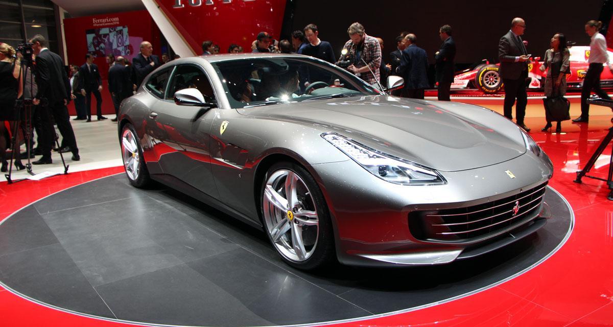 Salon de Genève en direct : Ferrari GTC4 Lusso, les photos et la vidéo