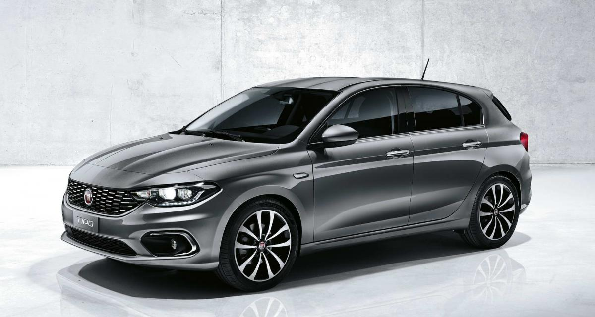 Salon de Genève en direct : Fiat Tipo 5 portes et break