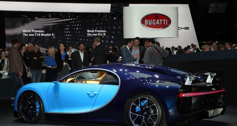 Salon de Genève en direct : toutes les photos de la Bugatti Chiron