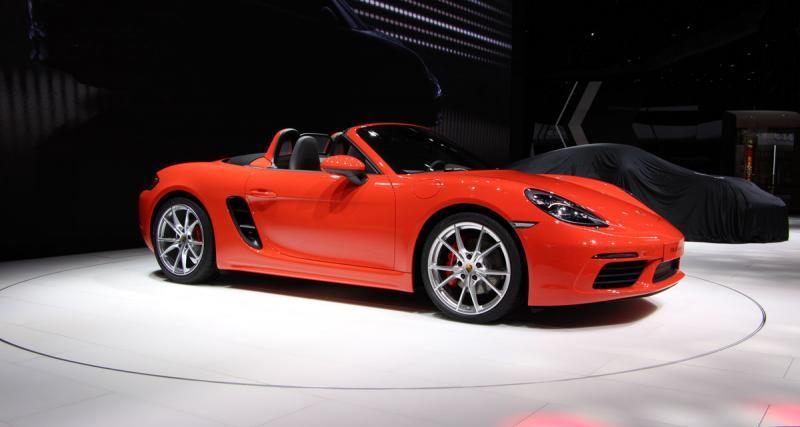 Salon de Genève en direct : Porsche 718 Boxster