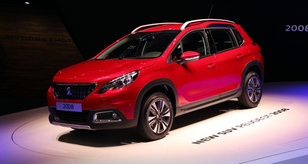 Salon de Genève en direct : Peugeot 2008 restylé