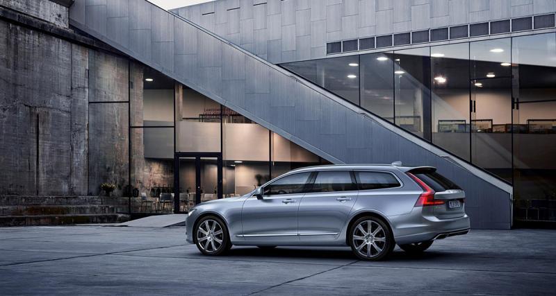 Volvo V90 : le break nouveau est arrivé