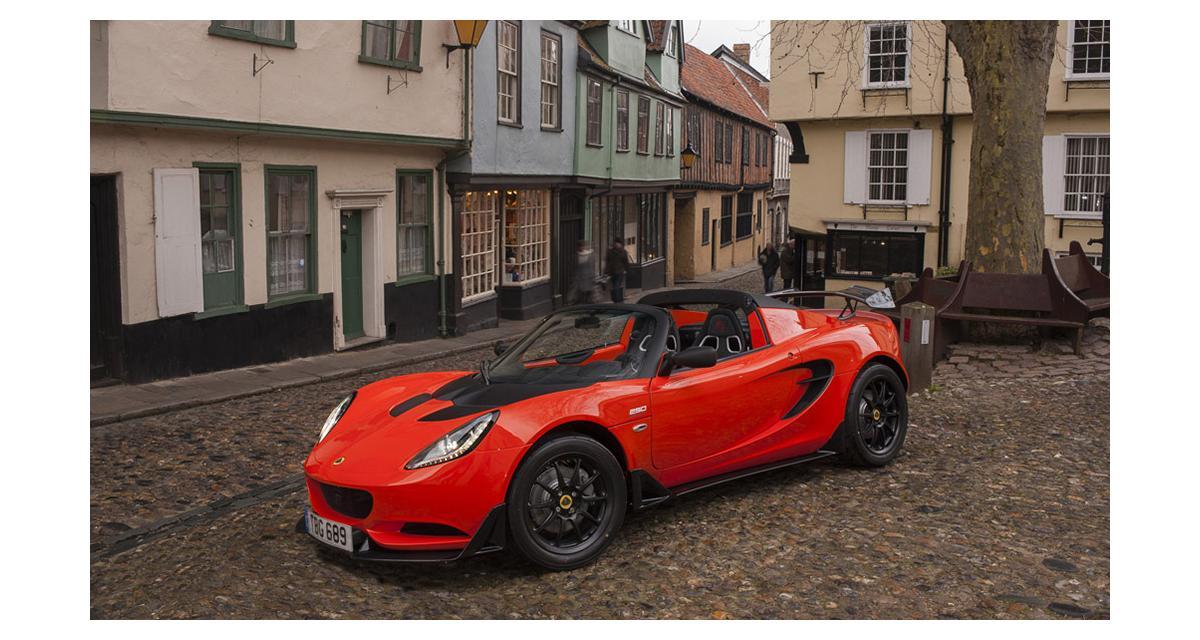Lotus Elise Cup 250 : radicale !