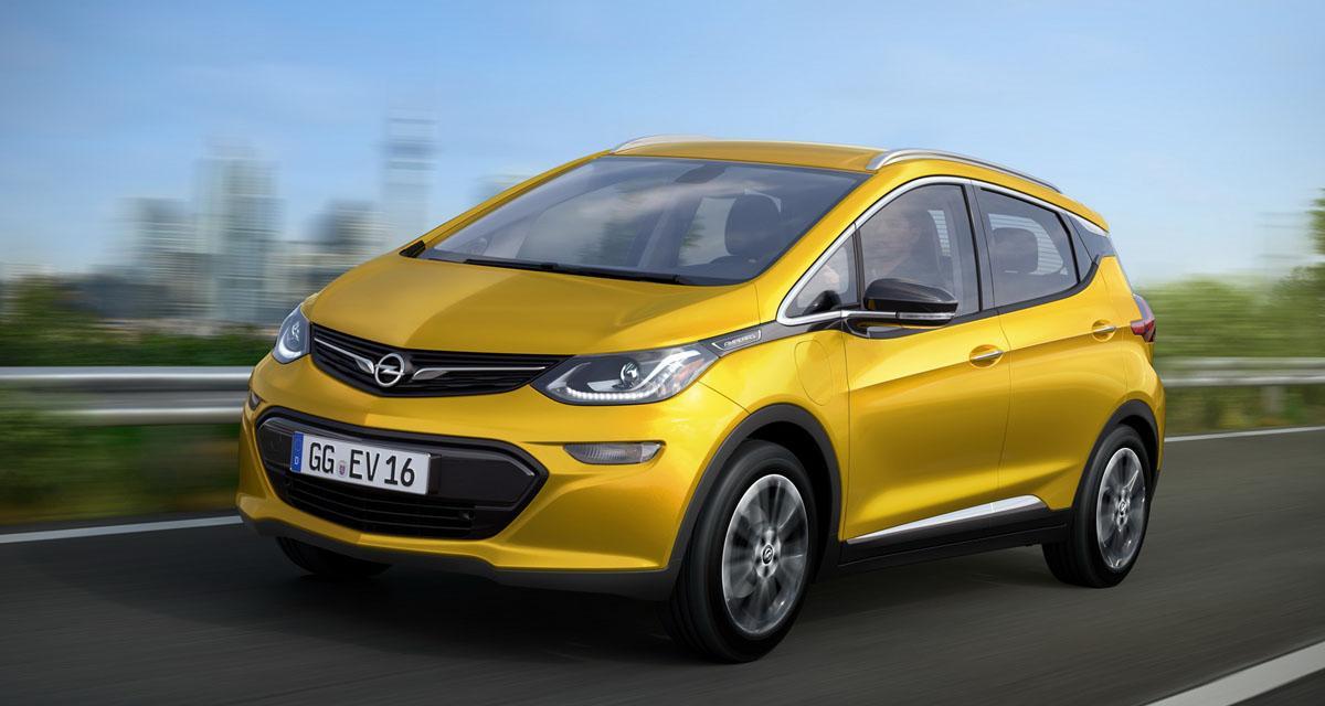 Opel veut révolutionner la voiture électrique avec l'Ampera-e