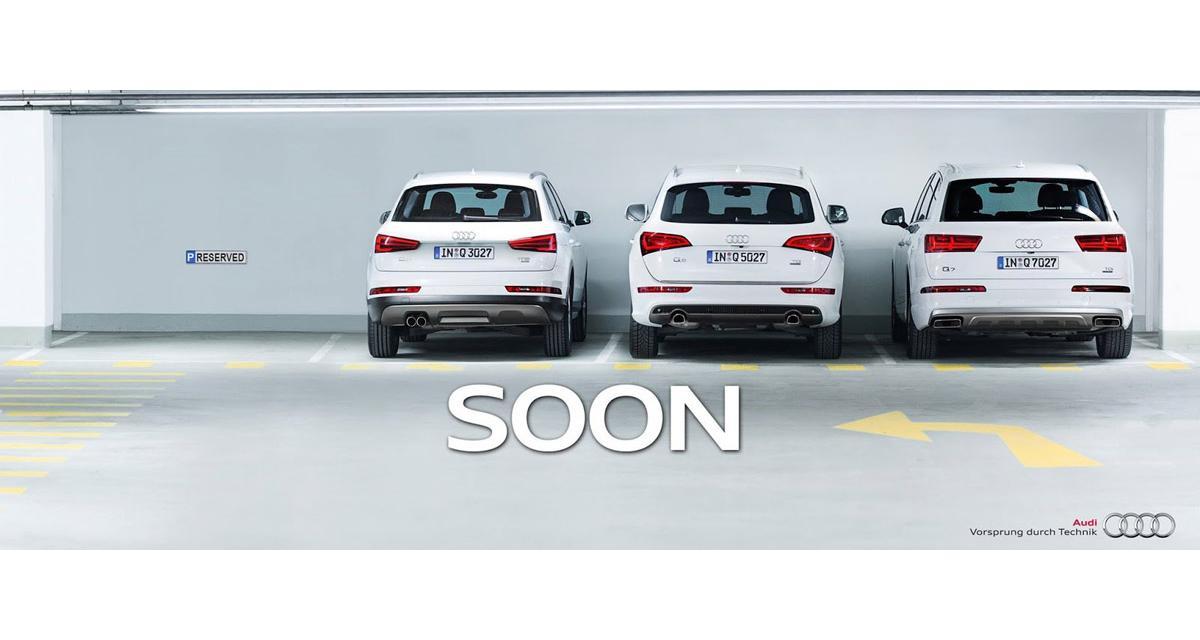 L'Audi Q2 a déjà une place réservée à Genève