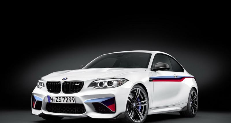 BMW M2 : encore plus sportive avec le kit M Performance