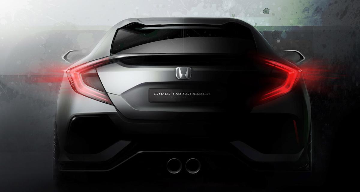 La Honda Civic 2017 sera au salon de Genève