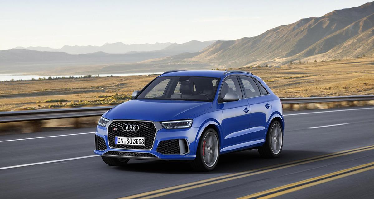 Audi RS Q3 Performance : 367 ch pour Genève