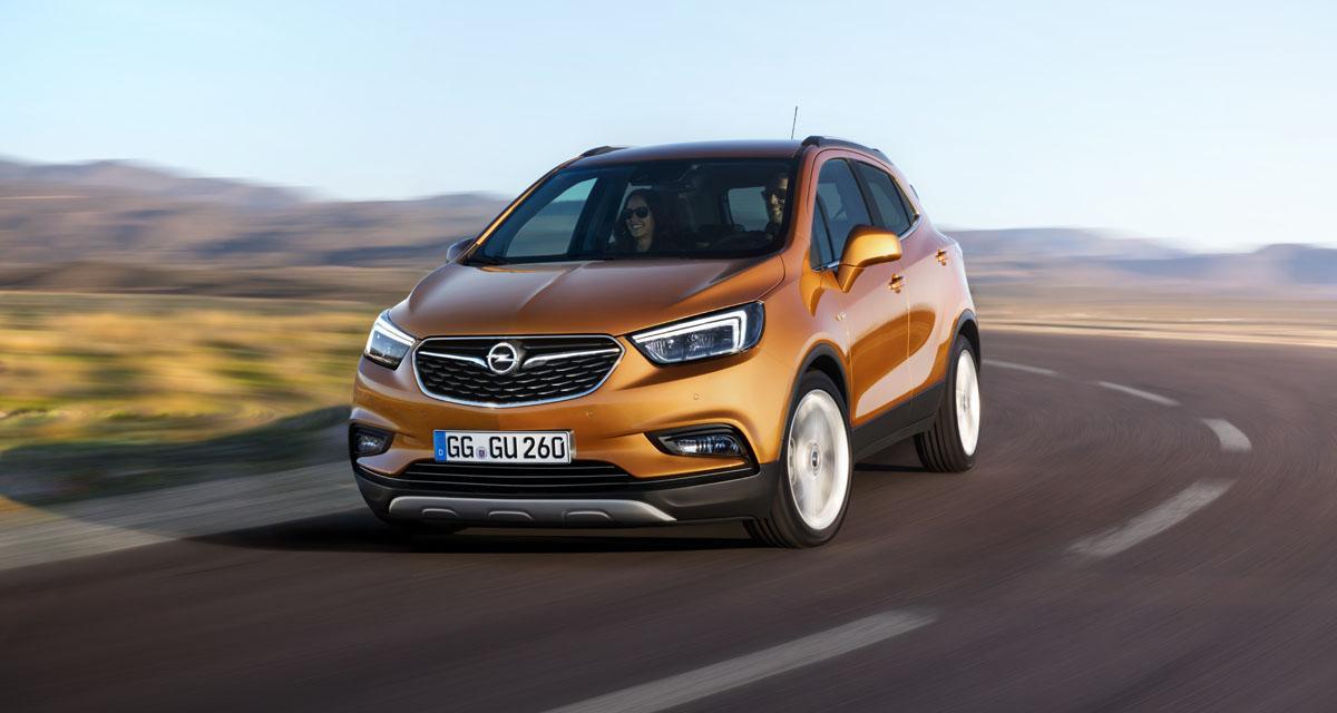 Opel réchauffe son Mokka