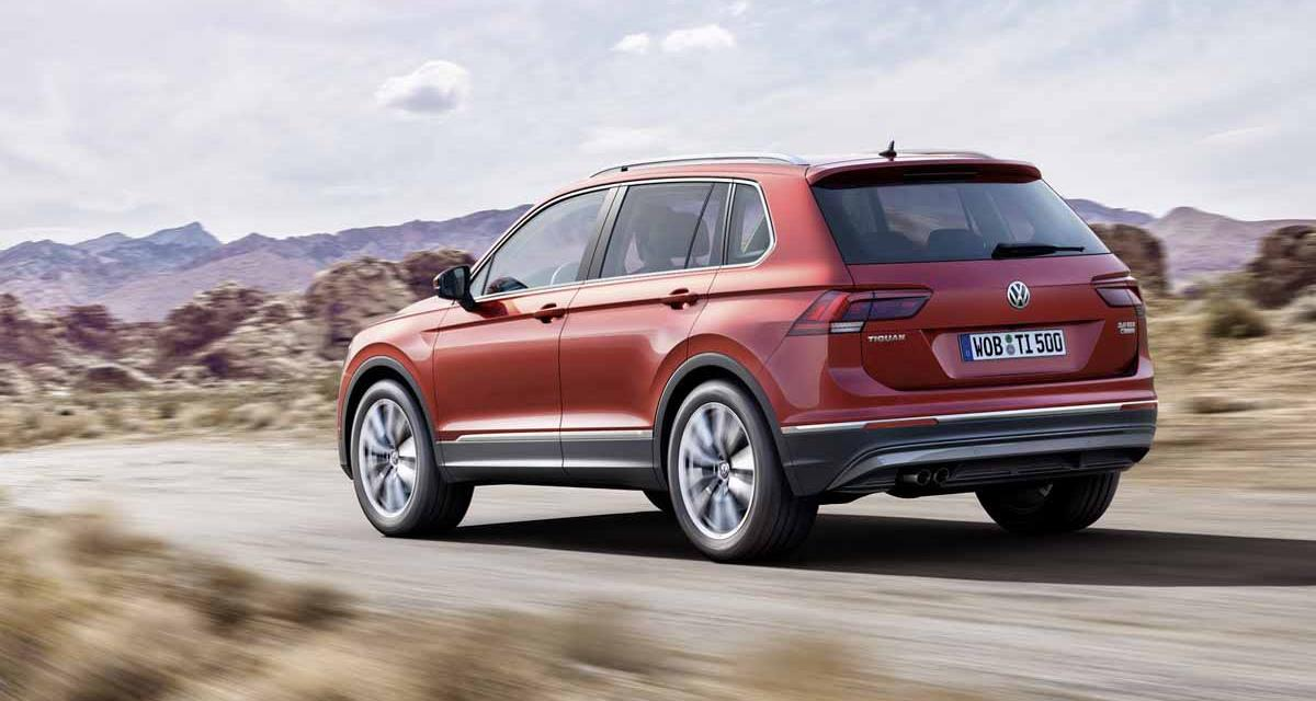 Volkswagen Tiguan 2016 : tous les tarifs
