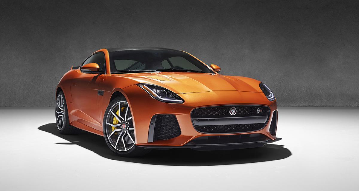 Jaguar F-Type SVR : la vidéo et les premières photos