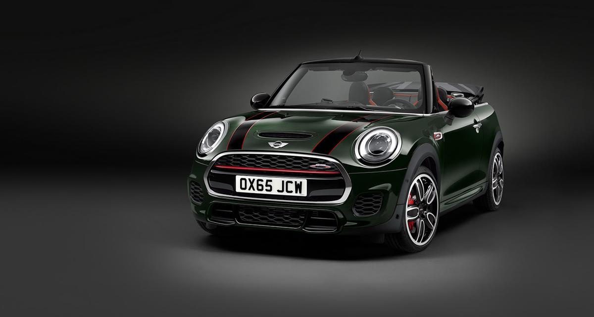 Mini John Cooper Works Cabrio : 3,87 m, 4 places et 231 ch