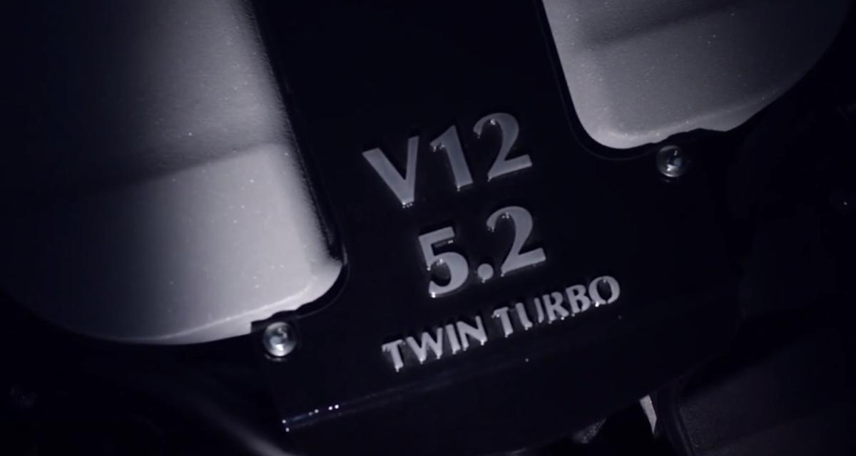 Aston Martin dévoile le nouveau V12 de la DB11 (vidéo)