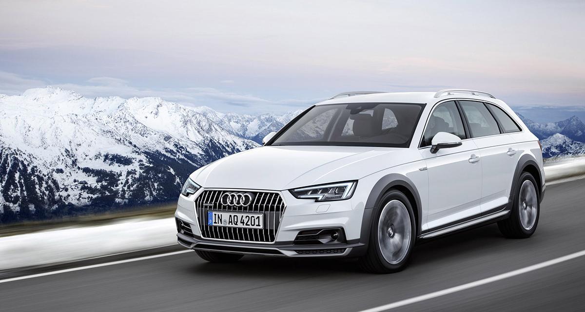 Audi A4 Allroad : le break baroudeur fait son entrée à Detroit