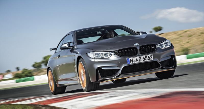 La BMW M4 GTS boucle le Nürburgring en 7'28 (vidéo)