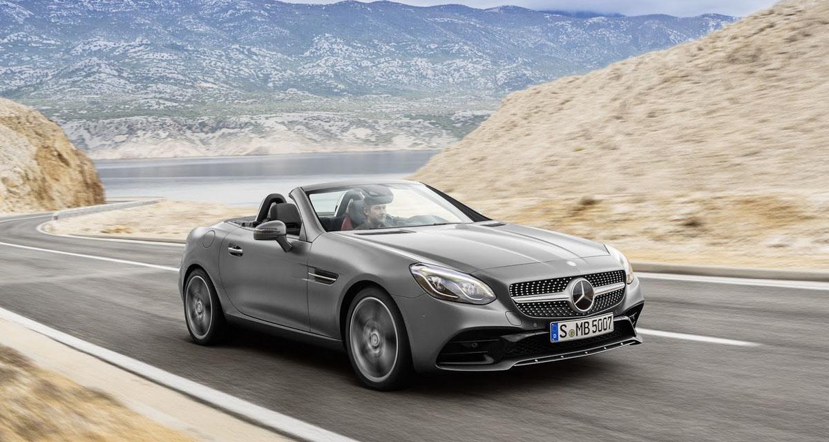 Mercedes SLC : adieu SLK