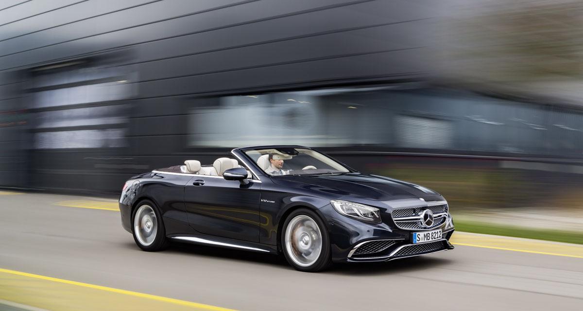 Mercedes S 65 AMG Cabriolet : opéra en plein air