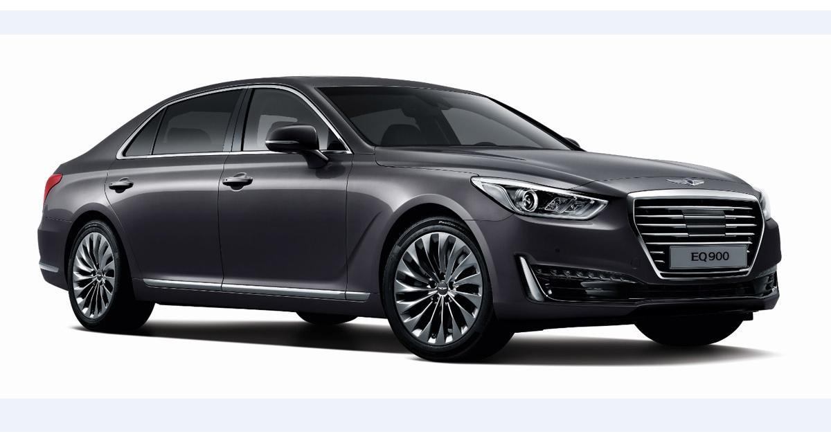 Genesis G90 : l'anti-Classe S de Hyundai
