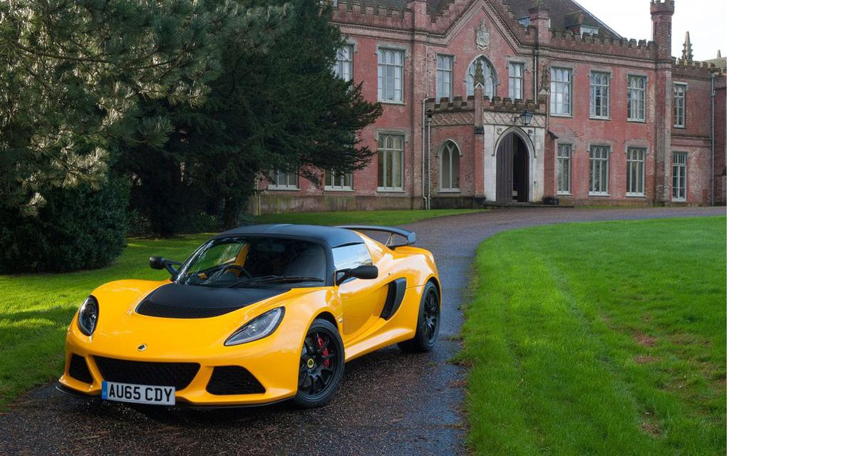 Lotus Exige Sport 350 : au régime sec