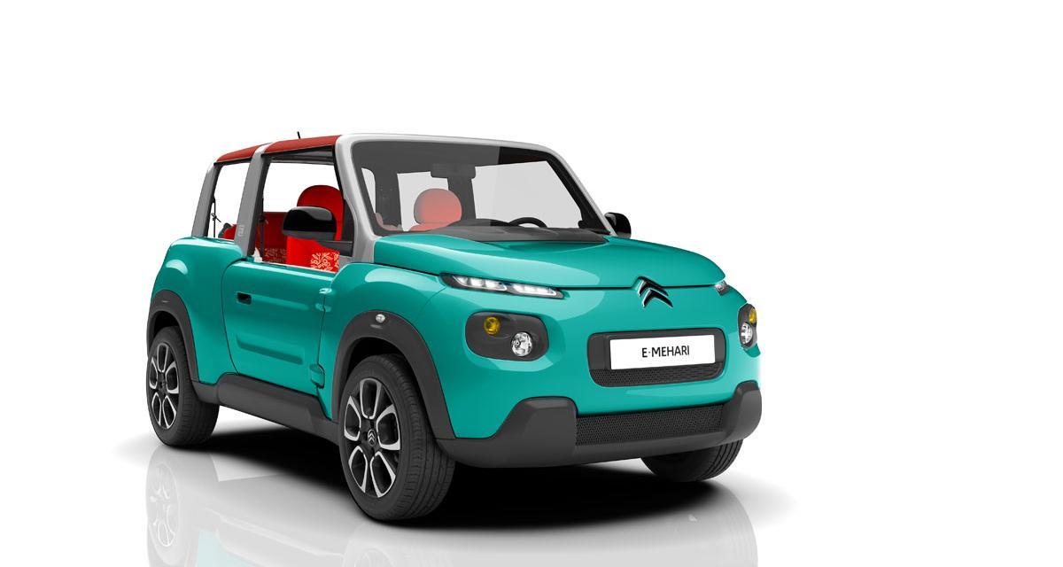 Citroën e-Méhari : nostalgie électrique