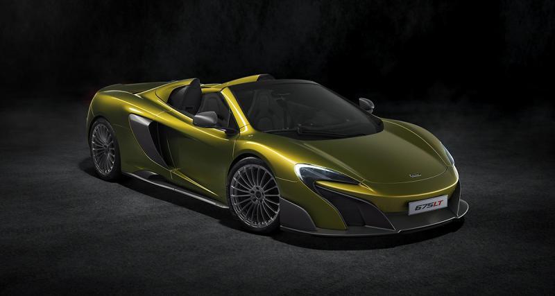 McLaren 675LT Spider : pour quelques dixièmes de moins