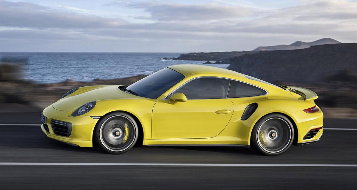 Porsche 911 Turbo : encore plus de puissance pour 2016