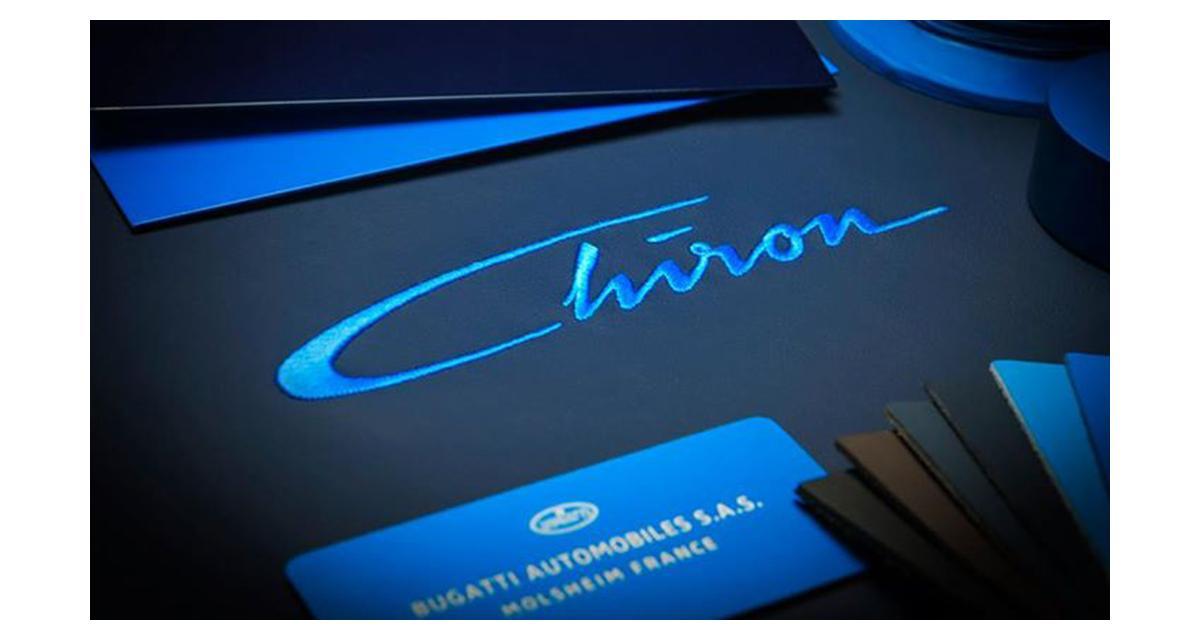 """Bugatti Chiron : """"la plus puissante et la plus rapide au monde"""""""