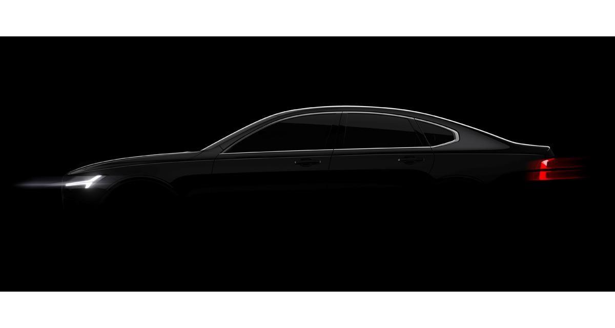 Volvo S90 : c'est elle